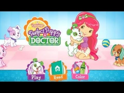 Strawberry Shortcake Puppy Doctor Archives Cute Puppies Videos
